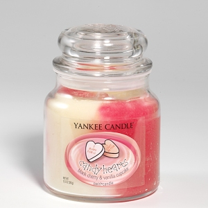 Yankee Candy Hearts Candle